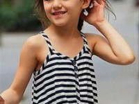 Сури Круз, дочь Тома Круза и Кэти Холмс